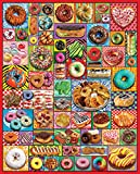 1000 piece puzzles donuts - White Mountain Puzzles Donuts and Pastries - 1000 Piece Jigsaw Puzzle