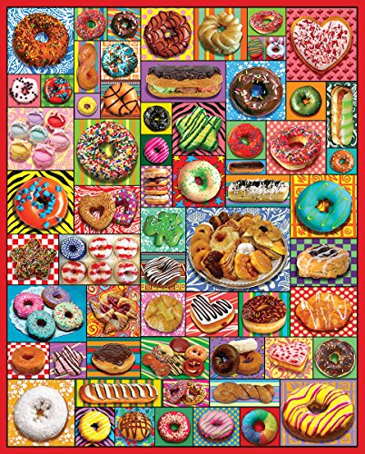 1000 piece puzzles donuts - 9