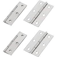 2 stks Scharnier Folding Butt Scharnier Hardware Deur Scharnieren voor, Kast Deur, Closet Deuren, 2.5 inch