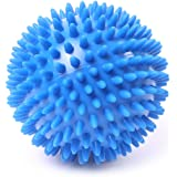 66fit Spiky 10cm Hard Massage Ball x 1pc - Trigger Point Reflexology Stress Release