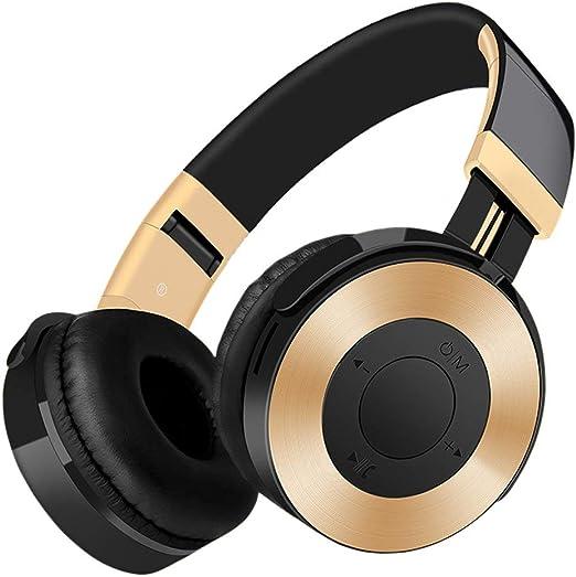 ZDZHU Auriculares Bluetooth, Auriculares inalámbricos estéreo con ...