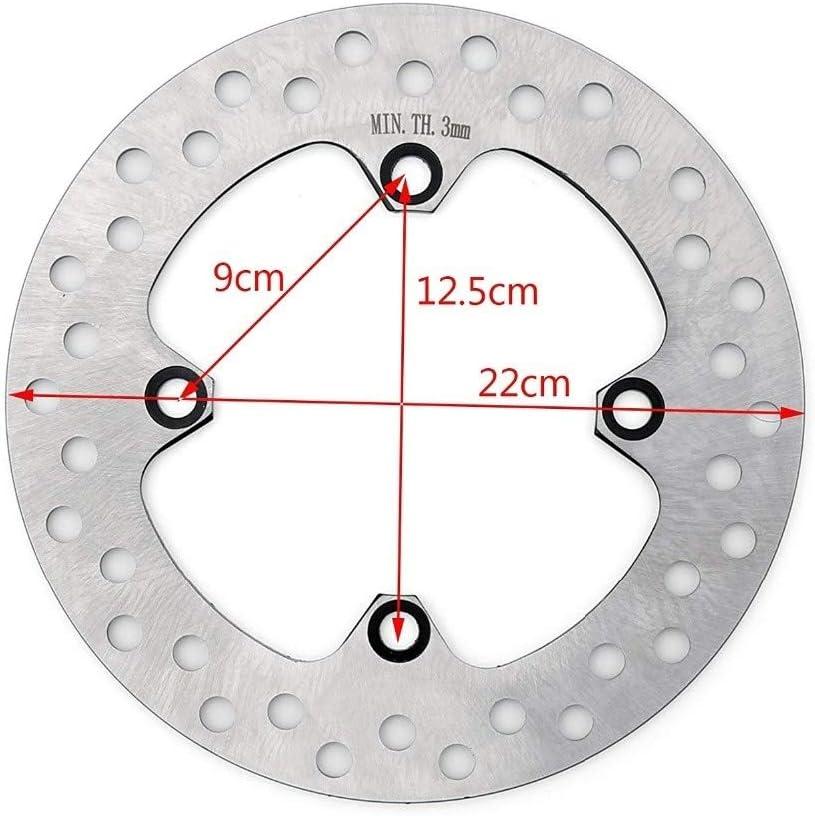 EG-MTSC, Mooreaxe Trasera del Freno de Disco del Rotor for ...