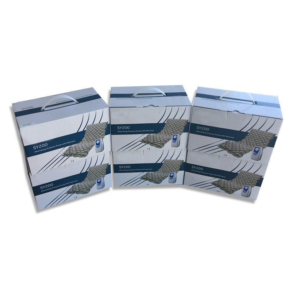 Pack de 6 colchones antiescaras con compresor | Modelo SY200: Amazon.es: Hogar