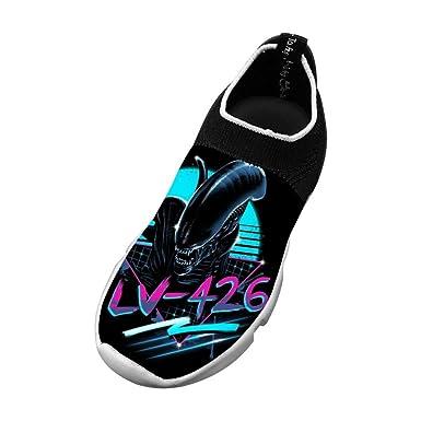 5d76e022c3784 Amazon.com: Rad Alien Flyknit Shoes Light Sports Sneakers Running ...
