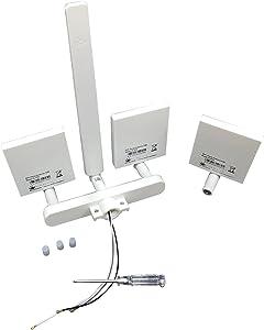 10dBi 5.8GHz Omni WiFi Signal Range Extender Antenna Kit for DJI Phantom 3 Standard,Phantom 3 SE