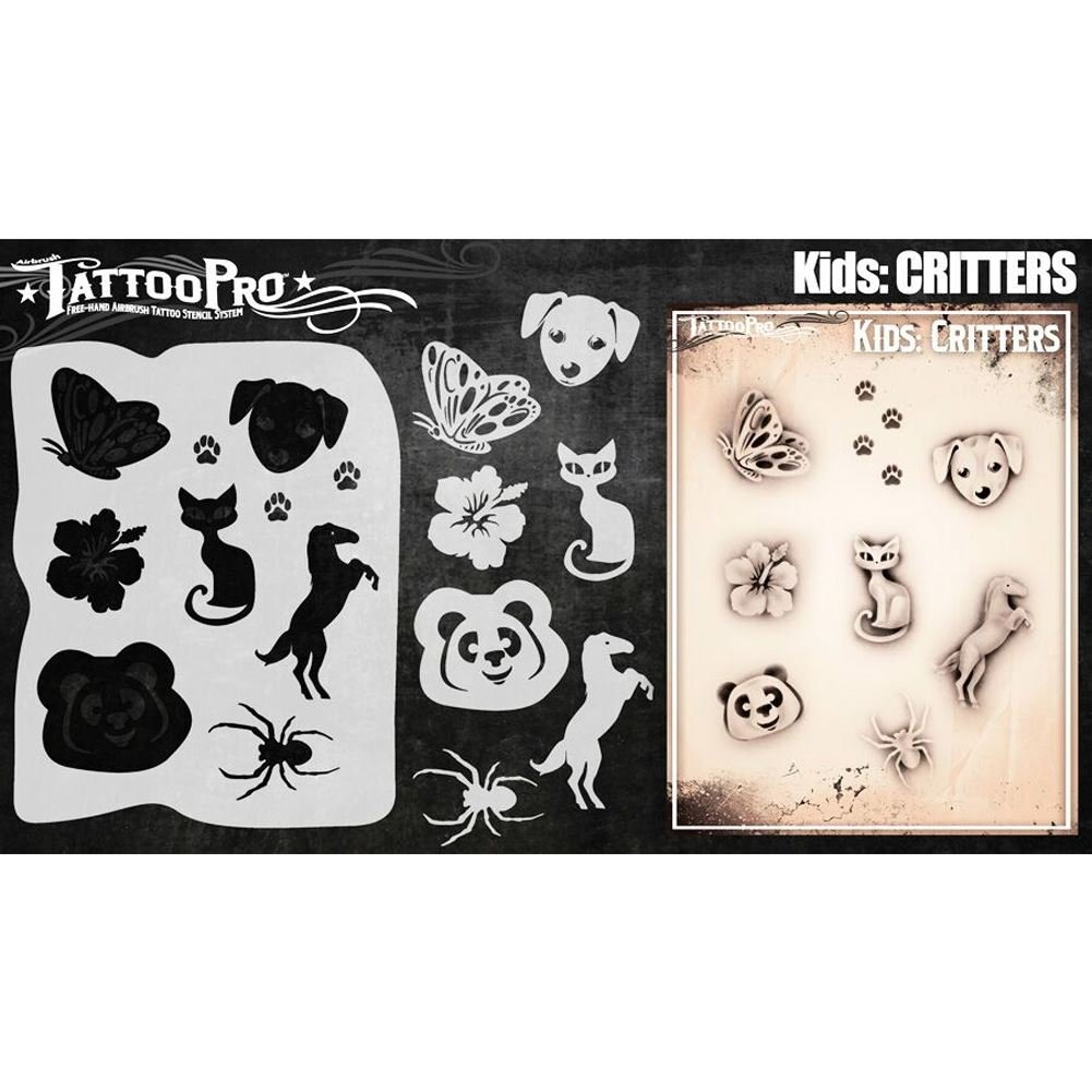 Tattoo Pro Stencils tatuajes bichos: Amazon.es: Hogar