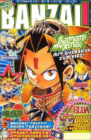 Banzai! Nr. 22 Taschenbuch – 2003 Carlsen 3551757925 Manga; Magazine Belletristik / Comic