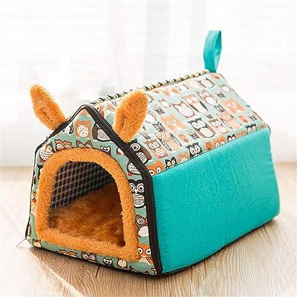 Steaean Cama para Mascotas Perrera camada para Gatos Cuatro Temporadas General Teddy Bomei Perro pequeño Perro