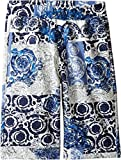 Versace Kids Boy's All Over Barocco Print Sweatshorts (Big Kids) Multi Shorts