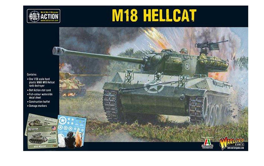 BOLT ACTION 28mm; M18 Hellcat