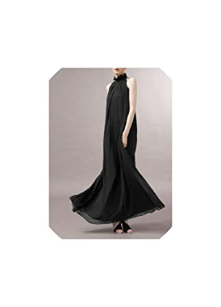 df894a33c073a Maternity Dresses Long Chiffon Bohemian Dress Clothes for Pregnant Women  Pregnancy Clothing,Black