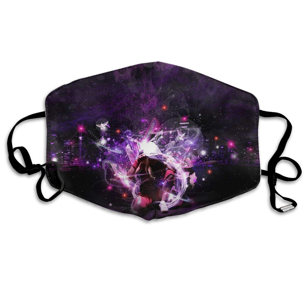 Mouth-Muffle Face Mask Unisex Hip Hop Adjustable Washable Anti-dust Woman Mens