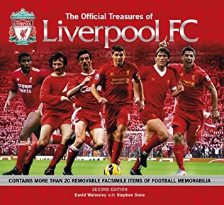 book cover of The Official Treasures of Liverpool FC