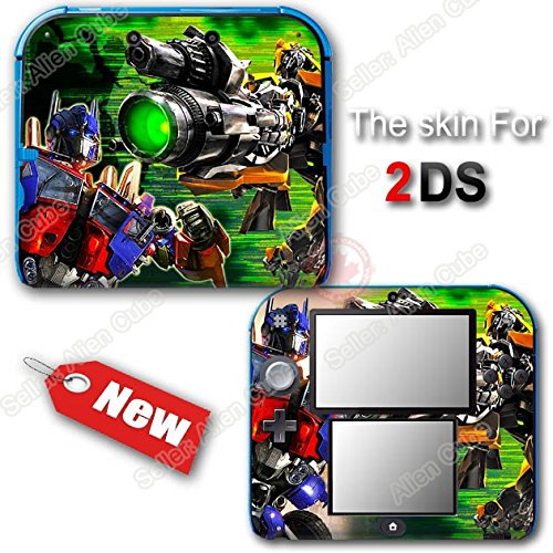 Transformers Optimus Prime Bumblebee SKIN STICKER COVER #1 for Nintendo 2DS ()