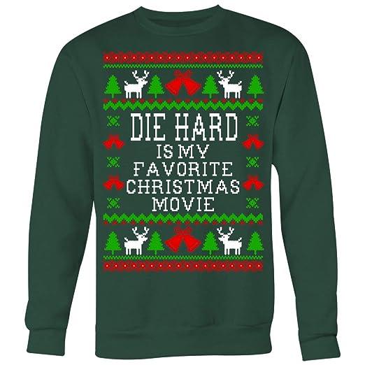 Amazoncom Die Hard Is My Favorite Christmas Movie Ugly Christmas