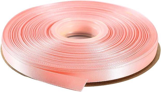 """9mm 3//8/"""" 3 metres pink sheer organza ribbom"""
