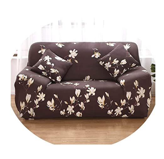 Elastic Slipcover Sofa Stretch L Shape Couch Cover Sectional ...