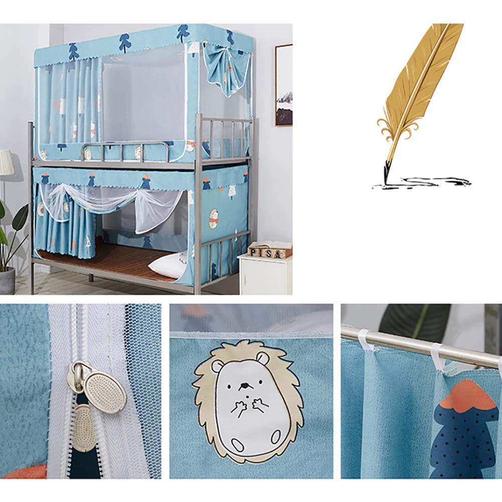 35x35x75inch Quadratische Baldachin,spitze Moskitonetze,schattierung Staubdicht Bett Spread Vorhang Auf Netting F/ür Schlafsaal,faltdesign Und Portable-a 90x90x190cm