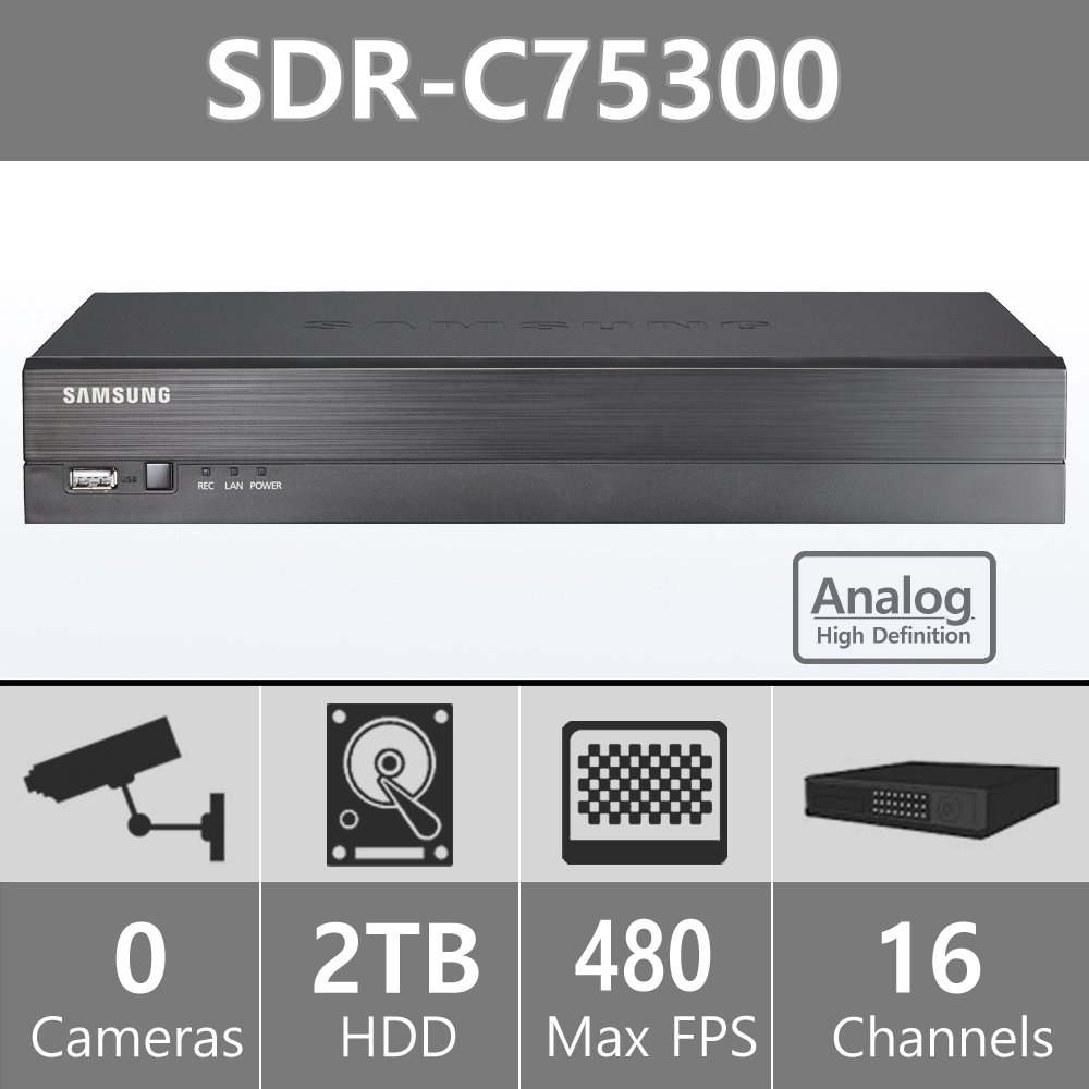 Samsung 16 Channel All in one DVR Security System Review