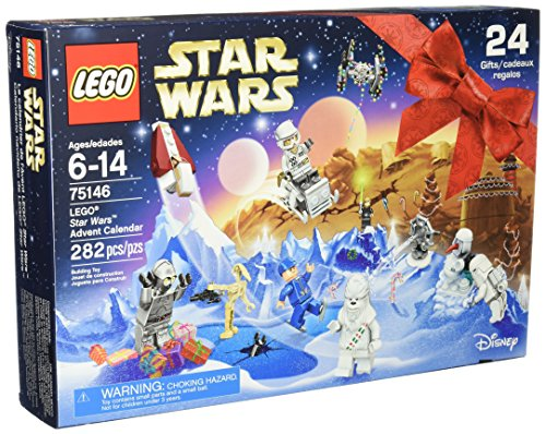 LEGO Star Wars 75146 Advent Calendar Building Kit (282 Piece) (Lego Advent Calendar Star Wars)