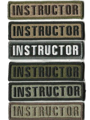 (6) Pack - HLK Culpeper Tactical Morale Hook Patches Morale Instructor Bundle