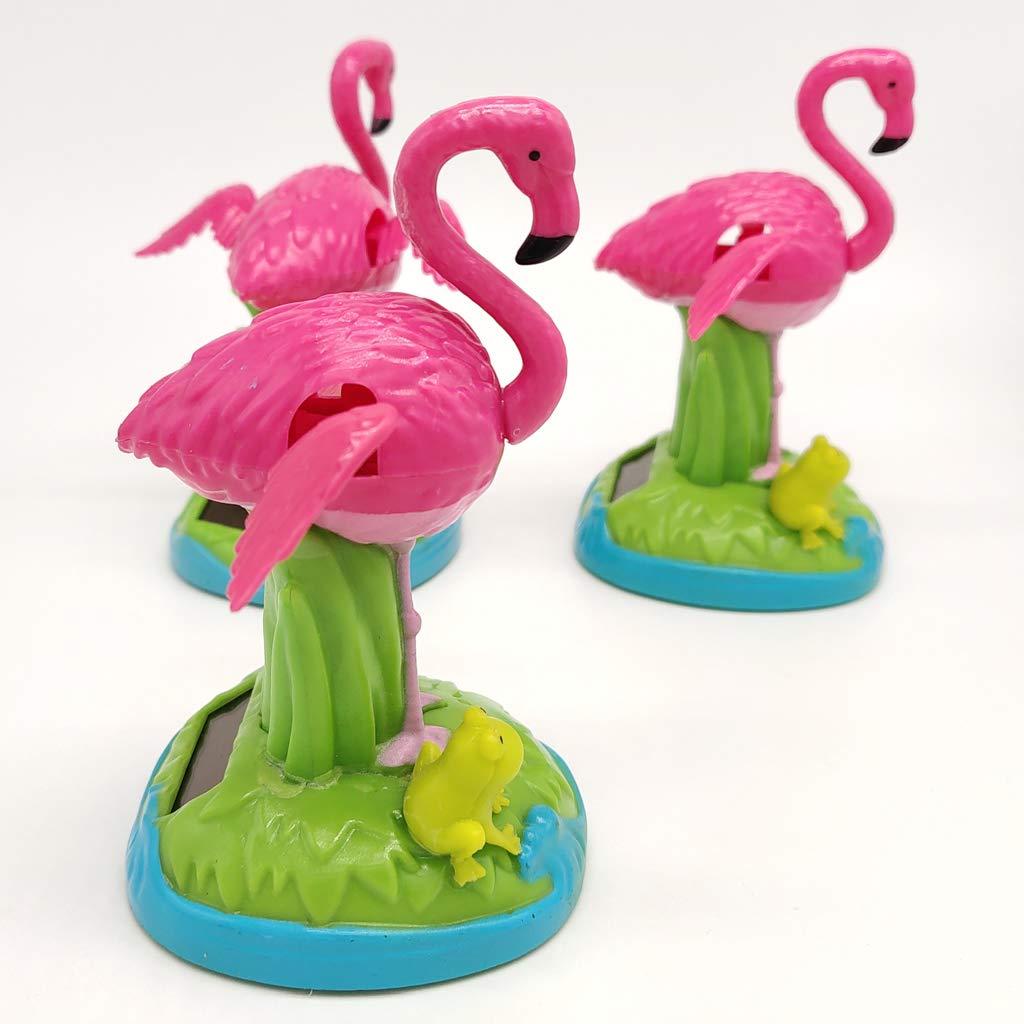 Jouet Figurine Homyl Nodding Flamingo Energie Grenouille Solaire pSUqzMGV