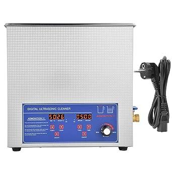 50AL 14L Lavadora de limpieza ultrasónica 40KHz Pantalla digital ...