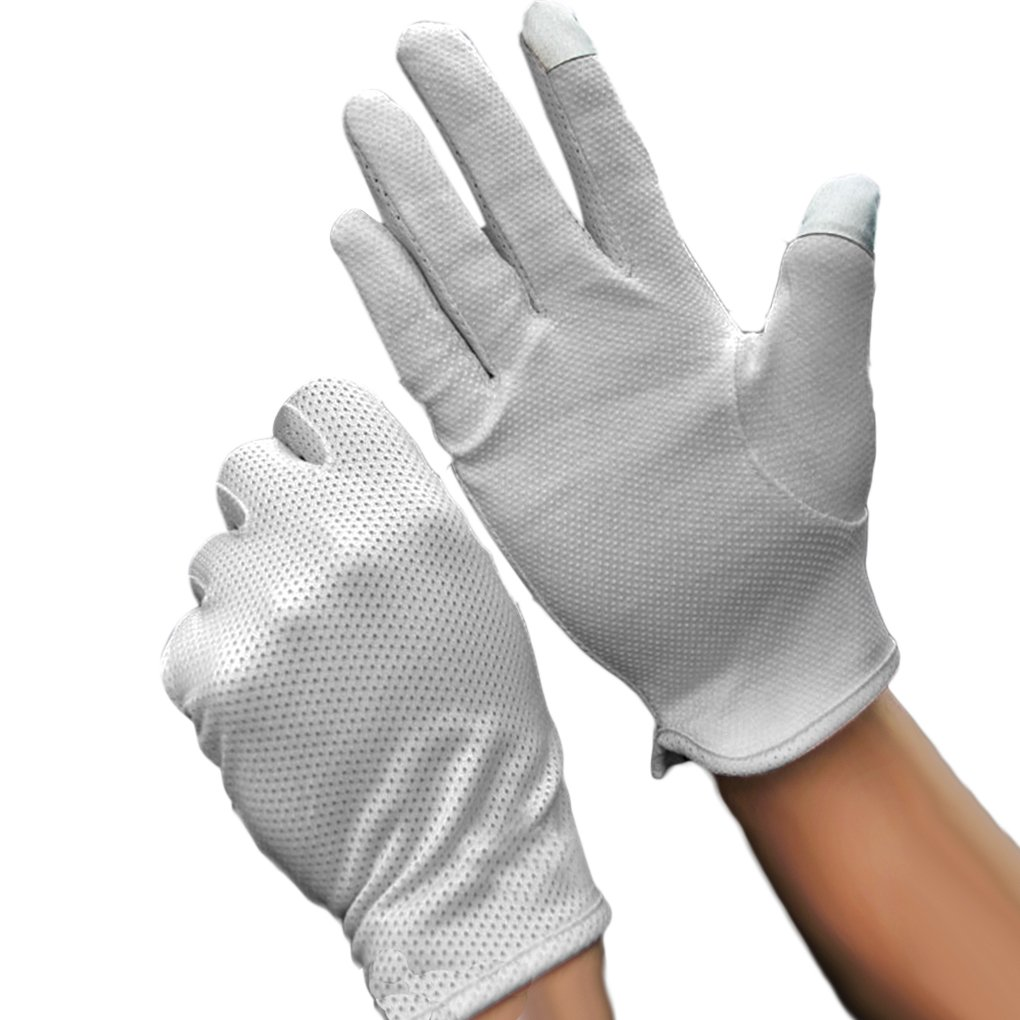 Summer Non Slip Driving Cycling Motorcycle Gloves UV Protection Touchscreen MioCloth