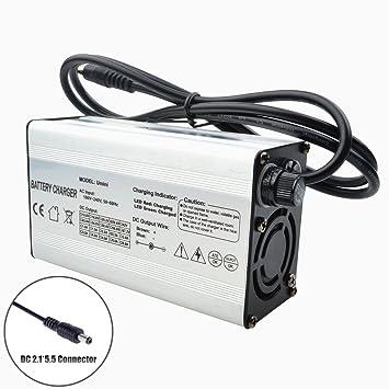 Amazon.com: 29,4 V 5 A cargador para 7s24 V batería de iones ...