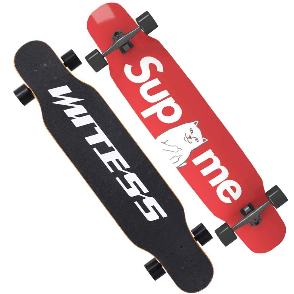 【おしゃれ】 Weiyue 107x25x13cm スケートボード- 107x25x13cm A 初心者スケートボードロングボード大人の男の子と女の子のダンスボードユース四輪スクーター (色 : D, サイズ さいず B07MT59VXX : 107x25x13cm) B07MT59VXX 107x25x13cm A A 107x25x13cm, Happy ハッピー:4711fe2f --- a0267596.xsph.ru