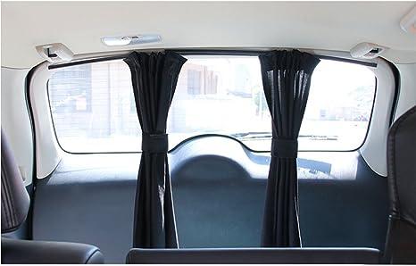 winomo 2Stk Ventana Lateral Auto Protecci/ón Solar cortinas UV sombrilla Adornar Ventana cartel Negro