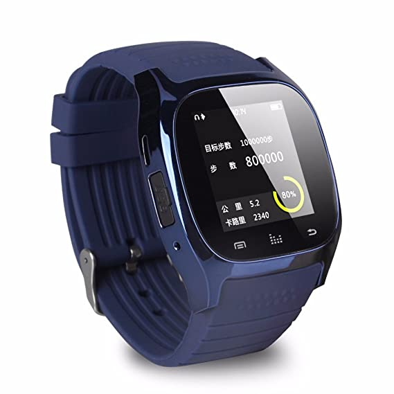 Amazon.com: M26 Wearable Devices Smart Watch Bluetooth Relog ...