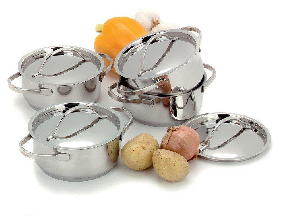 Demeyere Resto Mini Caserole Set, Silver, 4-Piece