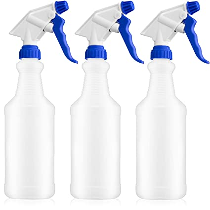 Amazon.com: Botella de spray de plástico de 32 oz. Graduado ...