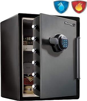 Master Lock Caja Fuerte de Seguridad [Ignifuga y Resistente al Agua] [Combinación Digital] [XX large] -LFW205FYC, Negro, Gris, XX-Large: Amazon.es: Bricolaje y herramientas