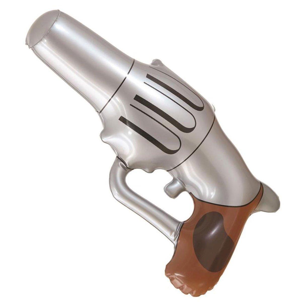 GCC Fashion Store Pistola hinchable de plata de vacuno Wild West ...
