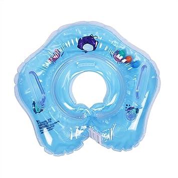 Zerodis Baby Neck Ring Anillo de Natación para bebé Infant Natación Flotador Inflable Anillo Inflable de Piscina Nadar(Azul): Amazon.es: Hogar