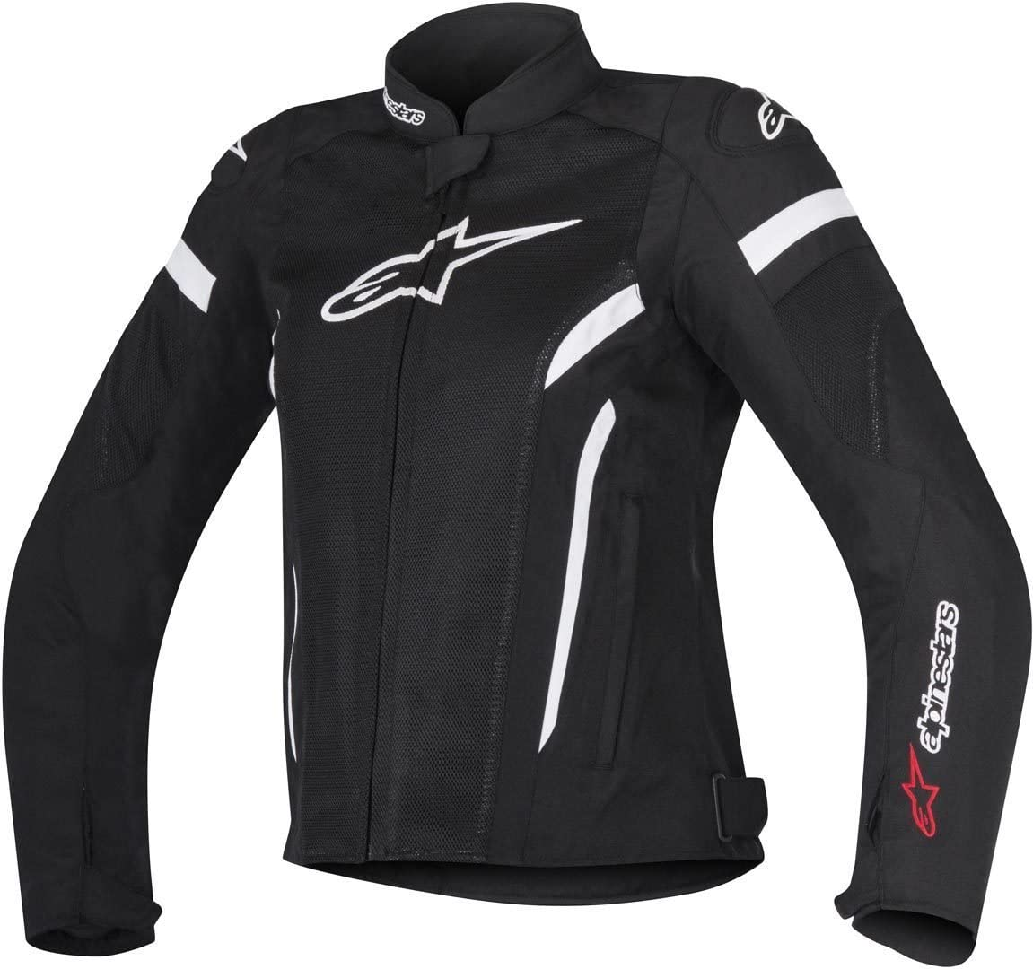 Motorcycle jackets Alpinestars Stella T-gp Plus R V2 Air Jacket Black White Black//White XS