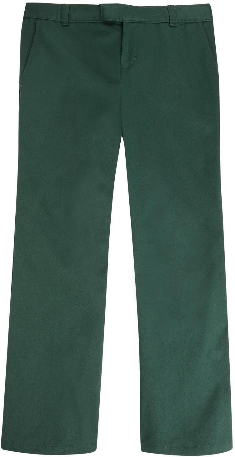 French Toast Big Girls' Adjustable Waist Flat Front Bootcut Pant SK9295