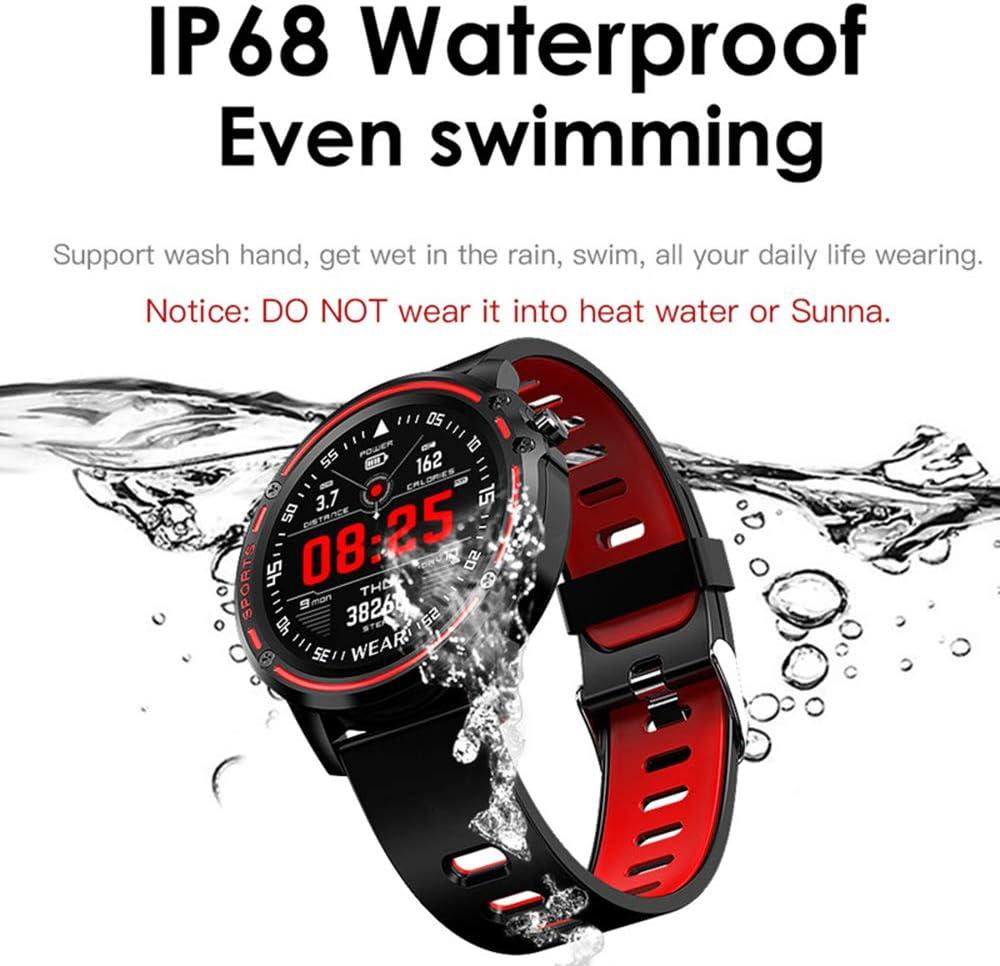 Amazon.com: GLO BUY Smart Watch Mens IP68 Waterproof Reloj ...