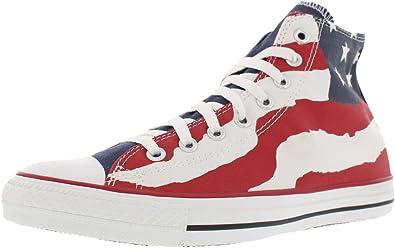 Palpitar intencional salario  Amazon.com | Converse All Star Ct Hi Flag Bars and Stars (4.5 Men / 6.5  Women) | Shoes