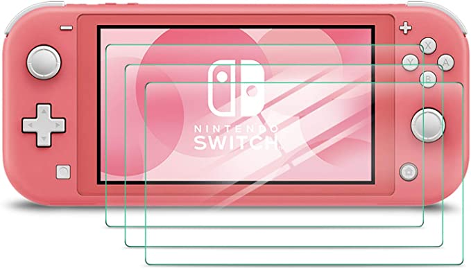 Luibor Protector Pantalla para Nintendo Switch Lite de Cristal ...