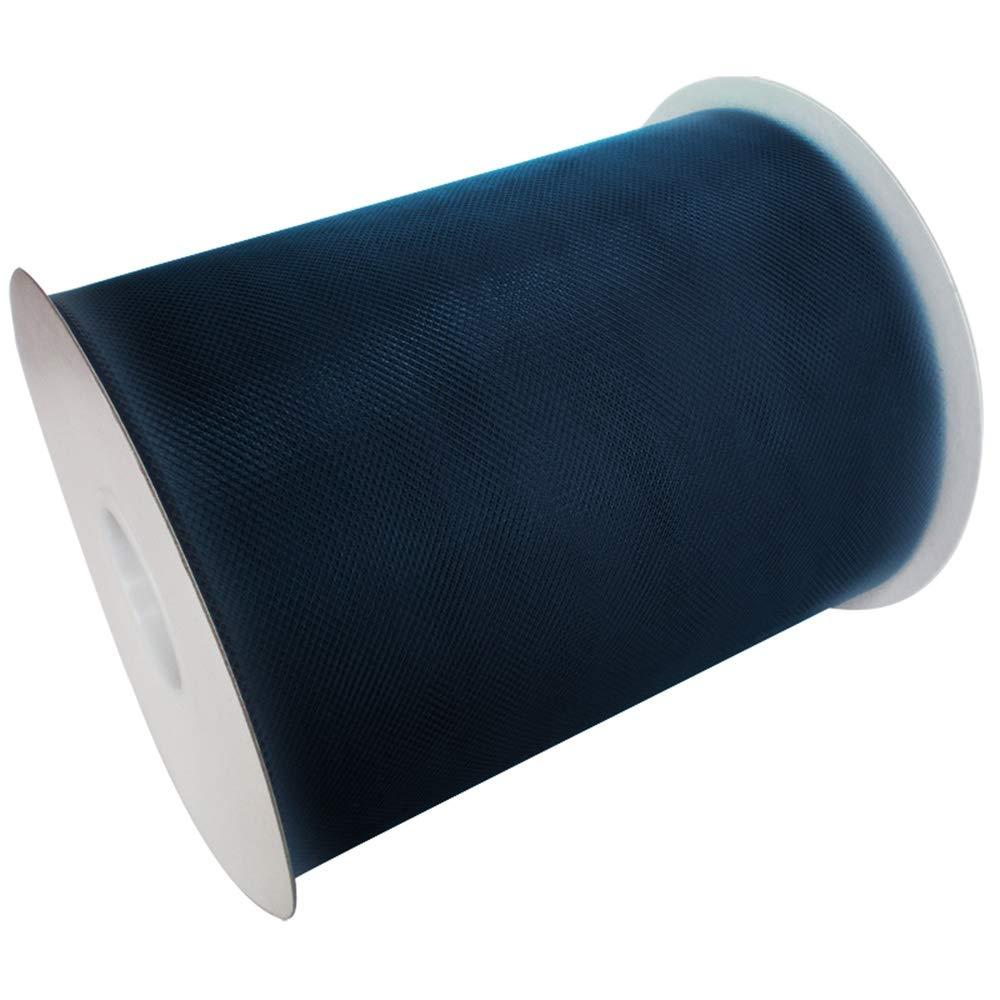 TtS 15cm x 23m Rouleau Tulle Ruban Bobine Jupe Tutu Nylon Mariage F/ête D/écoration Light Blue