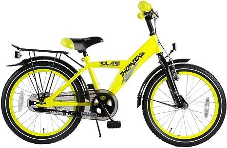 Volare Bicicleta Niño 18 Pulgadas Thombike con y Portaequipajes ...