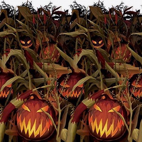 Field of Screams | Pumpkin Patch Room Roll, 4 Rolls