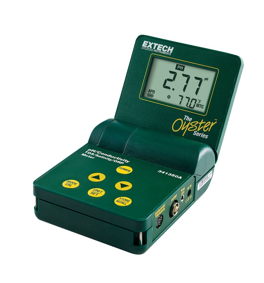 Extech 341350A-P-NIST Oyster Series pH/Conductivity/TDS/ORP/Salinity Meter with NIST