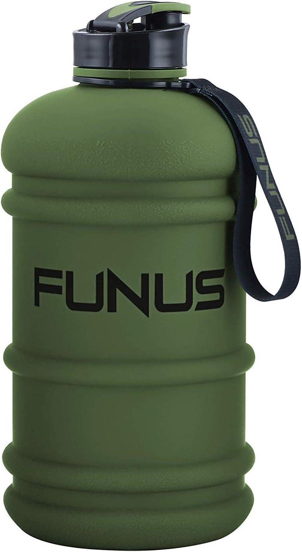 SOCOO Botella de Deportes Acuáticos de 2,2 litros sin BPA, Botella de Agua Portátil para Gimnasio/Viajes/Ejercicio/Deporte, Contenedores de Agua para Acampar