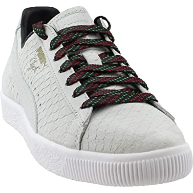 PUMA Mens Clyde GCC Casual Athletic   Sneakers White 6f471f34a