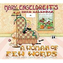 Mary Engelbreit 2020 Deluxe Wall Calendar: A Woman of Few Words