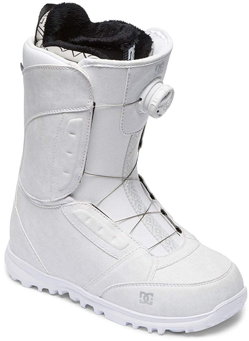DC Shoes Women's Lotus BOA Snowboard Boots White 7